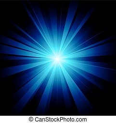 błękitny, pękać, kolor, wektor, projektować, rząd, included