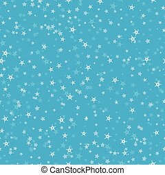 błękitny, płatki śniegu, dar, próbka, wrapping., seamless, tło., temat, website., tło, rok, nowy, dużo, boże narodzenie, zima