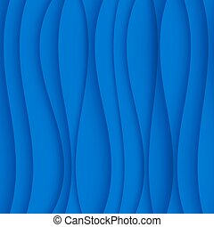 błękitny, pattern., seamless, struktura, machać, modeluje, tło., regularny, łukowaty