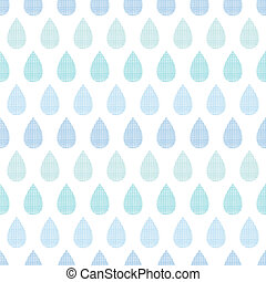 błękitny, próbka, abstrakcyjny, pasy, deszcz, seamless, tekstylny, tło, krople