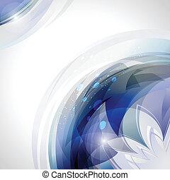 błękitny, ruch