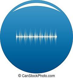 błękitny, stabilizator, wektor, cyfrowy, ikona