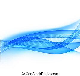 błękitny, tło., abstrakcyjny
