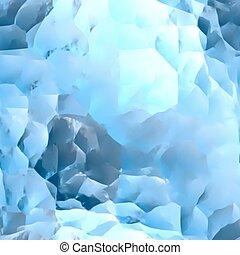 błękitny, wektor, marmur, lód, texture.