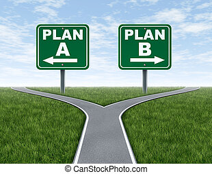 b, krzyż, plan, znaki, drogi, droga