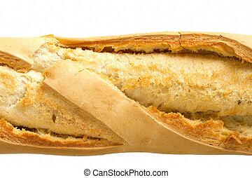 baguette, wizerunek, skorupiasty, do góry szczelnie