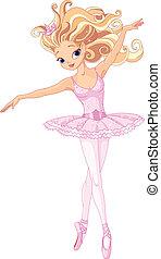 balerina, piękny