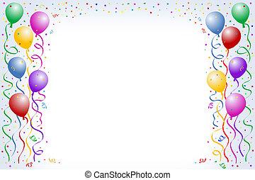 balloon, urodziny