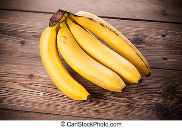 banany, świeży