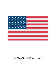 bandera, ameryka