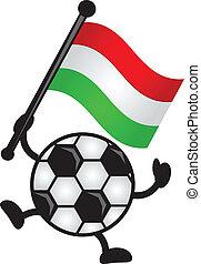 bandera, piłka nożna