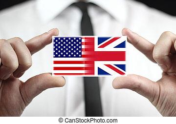 bandera, usa, uk