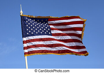 bandera, zjednoczony, ameryka, stany