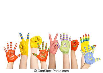 barwiony, dzieci, siła robocza