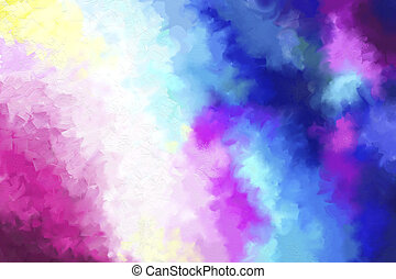 barwny, malarstwo, tło, abstrakcyjny, textured