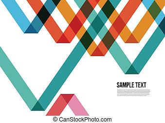 barwny, trójkąt, osłona, itd., broszura, tło, website, abstrakcyjny, namecard, afisz, układ, pattern., magazyn