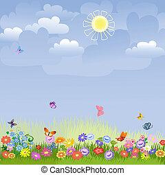 batyst, słoneczny dzień
