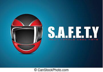 bezpieczeństwo, halmet, tło