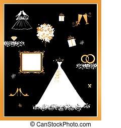 biały ślub, strój magazyn, dodatkowy