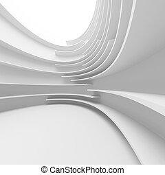 biały, projektować, abstrakcyjny, architektura