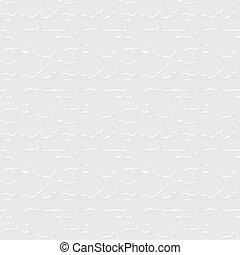 biały, stiuk, struktura, seamless