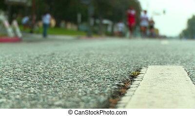 bieg obuwie, maraton