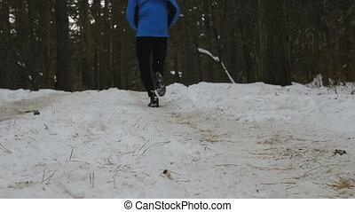 biegacz, bieg samczyk, zima, maraton
