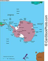 biegun południowy, antarctica, nazwiska