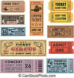 bilety, 1, grunge, zbiór