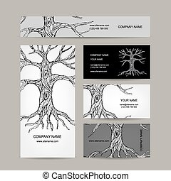 bilety, projektować, drzewo, handlowy, roots.