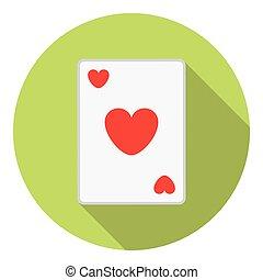 bilety, serce, interpretacja, garnitur