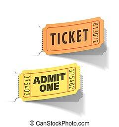 bilety, wejście