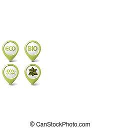 bio, komplet, skuwki, jadło, eco, organiczny, kasownik, zielony