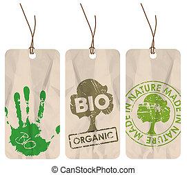 bio, organiczny, skuwki, eco, /, grunge