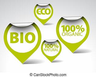 bio, skuwki, jadło, eco, kasownik, organiczny, zielony
