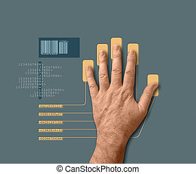 biometric, skandować