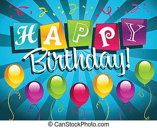 birthday!, szczęśliwy