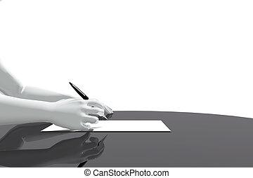 biuro, pisanie