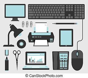 biurowe ikony