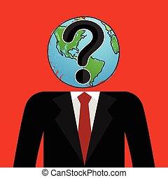 biznesmen, świat, cud