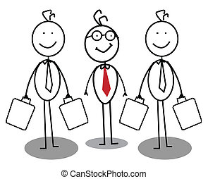 biznesmen, grupa