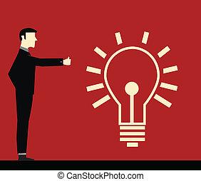biznesmen, idea