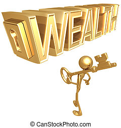 bogactwo, klucz