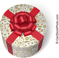 boks, dary, niespodzianka, przedstawia się