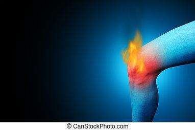 bolesny, kolano