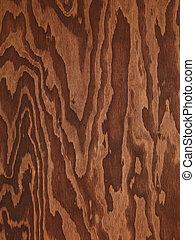 brązowy, abstrakcyjny, drewno, sklejka, struktura