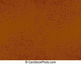 brązowy, grunge, struktura