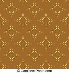 brązowy, wektor, seamless, struktura
