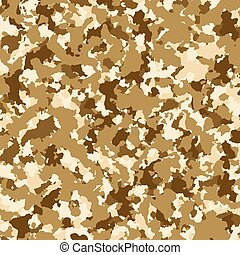 brązowy, wojskowy, tło, struktura, kamuflaż