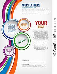 broszura, projektować